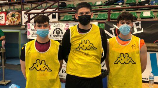 Tres juveniles del Mecanizados Aranda comienzan a entrenar con el primer equipo