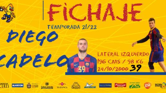 Diego Cadelo se une al proyecto de Plata de la próxima temporada