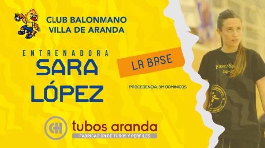 Sara López llega al Villa de Aranda para fortalecer la estructura de la base