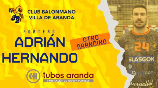 Adrián Hernando continuará ligado al Tubos Aranda