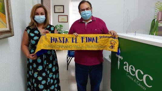 El Tubos Aranda despide la pretemporada en casa en apoyo a la lucha contra el cáncer