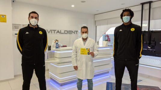 VITALDENT acompaña al Club Balonmano Villa de Aranda convirtiéndose en la Clínica Odontológica Oficial para el Club